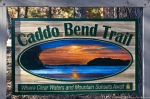 Lake Ouachita State Park Caddo Bend Trail Sign