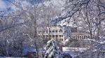 Hot Springs, Arkansas Snow Dec. 26 2012