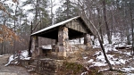 HSNP Honeysuckle Trail Hikers Hut Snow
