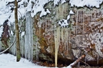 HSNP Rock Icicles and Snow