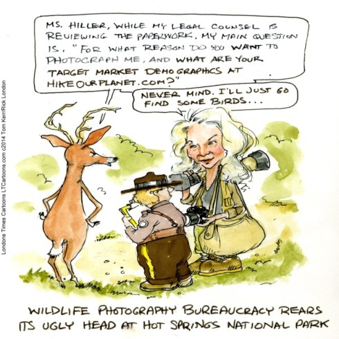 Lee Hiller Hike Our Planet by Londons Times Cartoons
