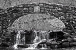 Stone Arch Bridge B&W