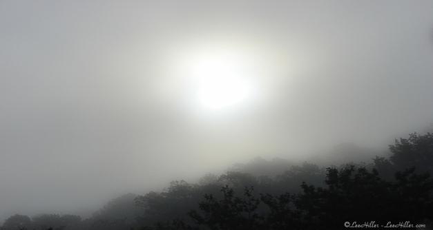 HSNP Foggy Morning Sunrise Hot Springs Mt