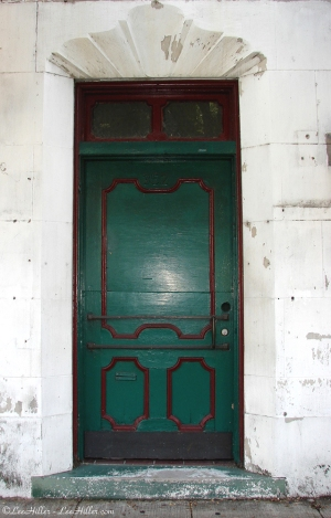 Hot Springs Historic District Green Door