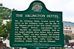 Historic Marker for Arlington Hotel
