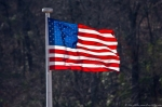 Dances with Light on the Trails - Gleaming Flag