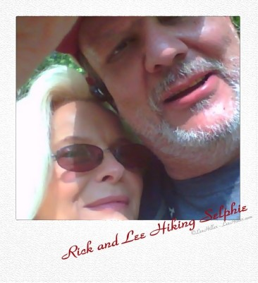 #Photo101 Treasure Close-up Rick and Me Hiking Selfie