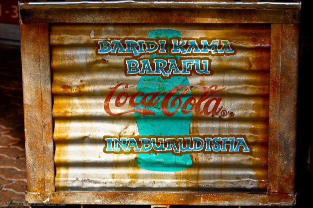 Swahili Coca-Cola Sign in Hot Springs, Arkansas