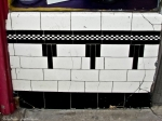 Art Deco Black and White Tiles