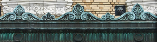 Fordyce Bathhouse Awning Bronze
