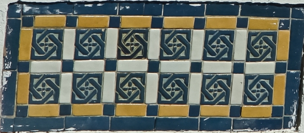 Bathhouse Row Tiles Hot Springs, Arkansas
