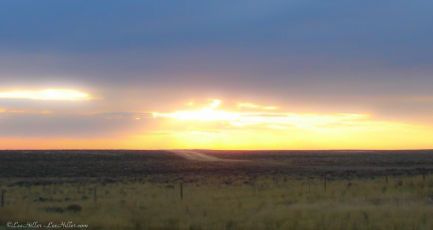 Wyoming Sunrise Horizon