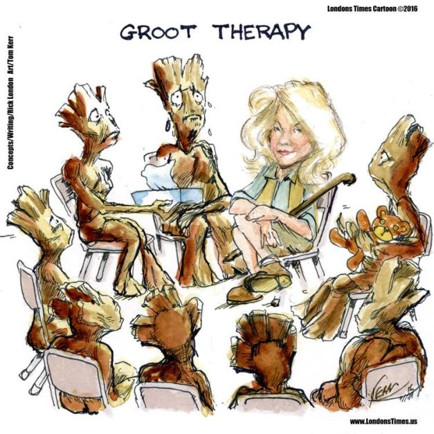 Lee Hiller in Groot Therapy